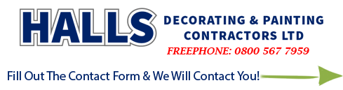 Contact Halls Decorators Today