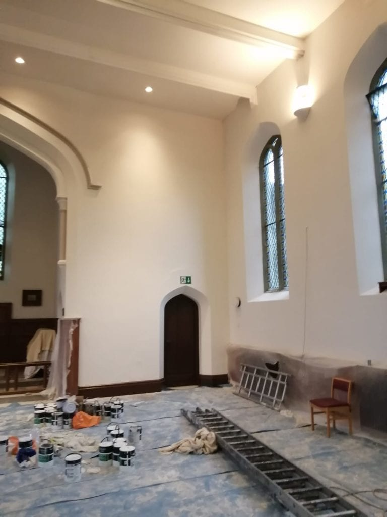 Church Restoration Work